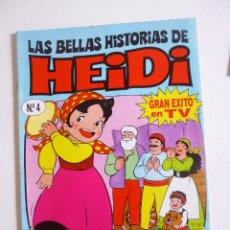 Tebeos: LAS BELLAS HISTORIAS DE HEIDI Nº 4 EDICIONES B 1987. Lote 50131707