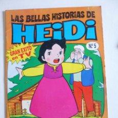 Tebeos: LAS BELLAS HISTORIAS DE HEIDI Nº 5 EDICIONES B 1987. Lote 50131715