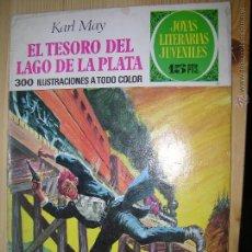 Tebeos: JOYAS LITERARIAS EL TESORO DEL LAGO DE LA PLATA Nº55. Lote 50155371