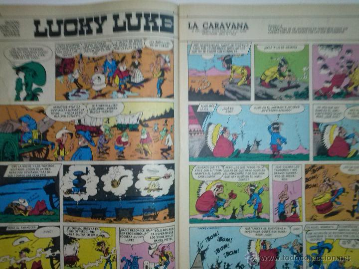 Tebeos: DDT-III ÉPOCA- Nº 394 -1975-LUCKY LUKE-TONTAINEZ-DON SALICILATO- MICHEL VAILLANT-BUENO-DIFÍCIL-3432 - Foto 4 - 213698902