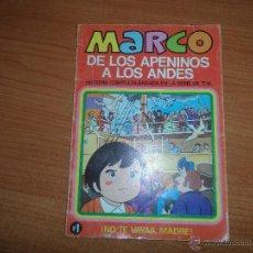 Tebeos: MARCO DE LOS APENINOS A LOS ANDES - VOLUMEN 1 - EDITORIAL BRUGUERA - 1977 - . Lote 50200826