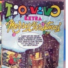 Tebeos: COMIC TIO VIVO EXTRA 17 MERRY CHRISTMAS1982 CROMOS RECORTABLES 12-MAJARETO-GOTERA-PICAPORTE-CARPANTA. Lote 50208752