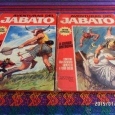Tebeos: JABATO COLOR EXTRA ALBUM ROJO NºS 6 Y 8. BRUGUERA 1970. TAPA DURA DIFÍCILES.. Lote 50217776