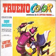Tebeos: CAPITAN TRUENO COLOR. Nº278. JAITOK, EL CRUEL. SUPER AVENTURAS 1.679. BRUGUERA. Lote 50230406
