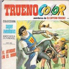 Tebeos: CAPITAN TRUENO COLOR. Nº52. EL ATAQUE EN EL MAR. SUPER AVENTURAS 1.821. BRUGUERA. Lote 50230512