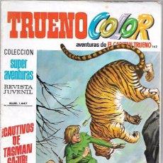 Tebeos: CAPITAN TRUENO COLOR. Nº162. CAUTIVOS DE TASMAN SAJIB. SUPER AVENTURAS 1.447. BRUGUERA. Lote 50230568