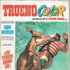 Tebeos: CAPITAN TRUENO COLOR. Nº248. LOS FEROCES WUNGHAI. SUPER AVENTURAS 1.619. BRUGUERA. Lote 50230687