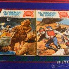 BDs: CORSARIO DE HIERRO NºS 11 15 18 JOYAS LITERARIAS JUVENILES SERIE ROJA. BRUGUERA 1ª ED 1978. 30 PTS.. Lote 50234225