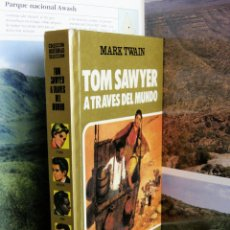 Tebeos: COLECCION HISTORIAS SELECCION Nº15 TOM SAWYER A TRAVES DEL MUNDO 1985. Lote 50269367