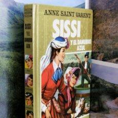 Tebeos: COLECCION HISTORIAS SELECCION Nº9 SISSI Y EL DANUBIO AZUL 2ªEDICION 1985 ANNE SAINT VARENT. Lote 50269433