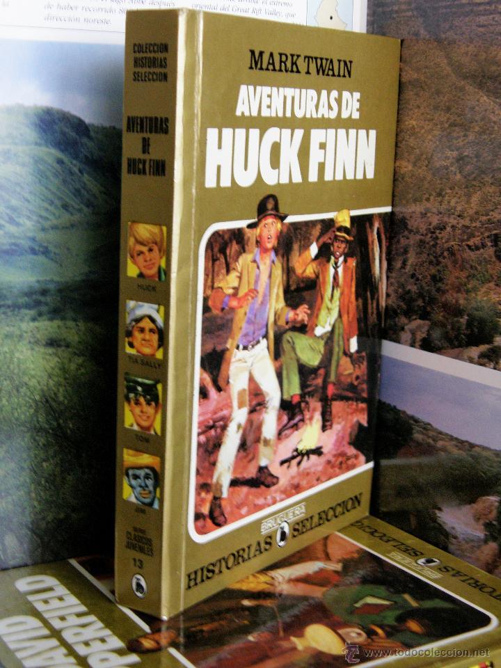 COLECCION HISTORIAS SELECCION Nº13 AVENTURAS DE HUCK FINN 8ªEDICION 1985 MARK TWAIN (Tebeos y Comics - Bruguera - Historias Selección)