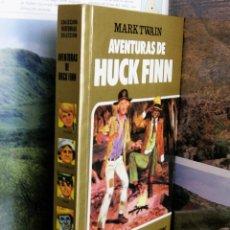 Tebeos: COLECCION HISTORIAS SELECCION Nº13 AVENTURAS DE HUCK FINN 8ªEDICION 1985 MARK TWAIN. Lote 50269488
