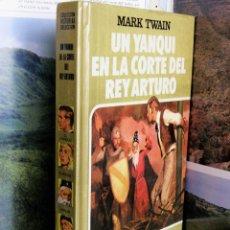 Tebeos: COLECCION HISTORIAS SELECCION Nº8 UN YANQUI EN LA CORTE DEL REY ARTURO 4ª 1985 MARK TWAIN. Lote 50269551