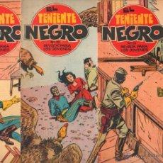 Tebeos: EL TENIENTE NEGRO ORIGINAL Nº 26,28,29 EDITORIAL BRUGUERA 1962 - POR JOSÉ GRAU -. Lote 50277135