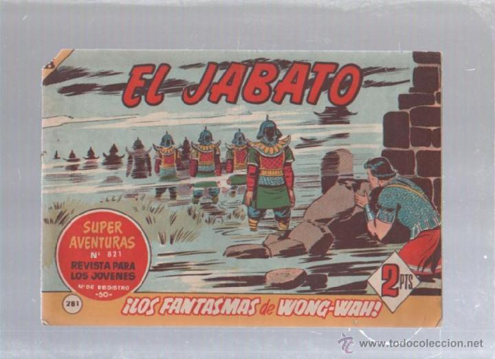 EL JABATO. Nº 281. LAS FANTASMAS DE WONG-WAH (Tebeos y Comics - Bruguera - Jabato)