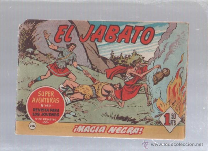 EL JABATO. Nº 216. MAGIA NEGRA (Tebeos y Comics - Bruguera - Jabato)