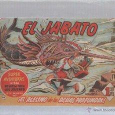 Tebeos: EL JABATO. Nº 66. EL ASESINO DE LAS AGUAS PROFUNDAS. Lote 50302550