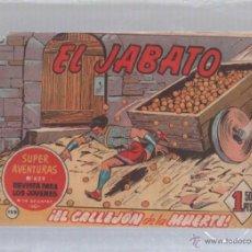 Tebeos: EL JABATO. Nº 199. EL CALLEJON DE LA MUERTE. Lote 50302614