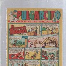 Tebeos: PULGARCITO. Nº 1355. REVISTA SEMANAL ILUSTRADA. AÑO XXXVI. EL REPORTER TRIBULETE. Lote 50314776