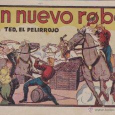Tebeos: COMIC COLECCION TED EL PELIRROJO UN NUEVO ROBO . Lote 50351102
