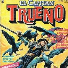 Tebeos: CÓMIC EL CAPITÁN TRUENO Nº 12 AÑO 1 MAYO 1986. Lote 50360461