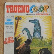 Tebeos: COMIC TRUENO COLOR Nº 25 SEGUNDA EPOCA 1975 BRUGUERA SUPER AVENTURAS 1767 CAPITAN EL RETO DE ZANDAK. Lote 50373029