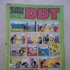 Tebeos: DDT Nº 250 BRUGUERA 1972 LUCKY LUKE. Lote 50375275