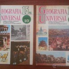Tebeos: 2 REVISTAS GEOGRAFÍA UNIVERSAL, FASCÍCULOS 10 Y 11, EDITORIAL BRUGUERA SA. Lote 50387571