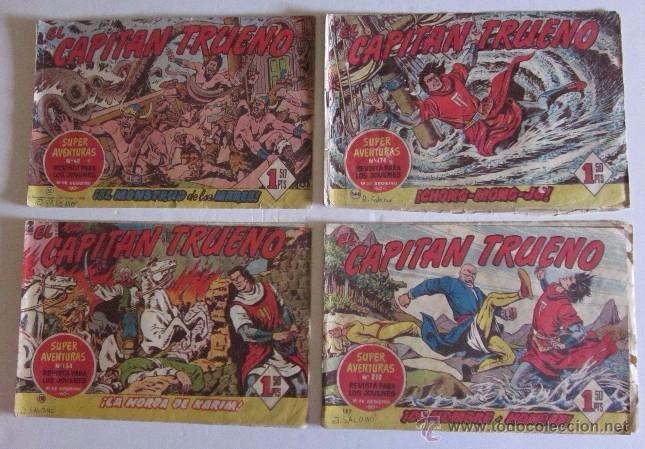 Tebeos: 26 COMICS EL CAPITAN TRUENO - Foto 2 - 50413682