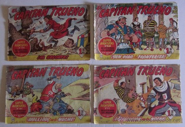 Tebeos: 26 COMICS EL CAPITAN TRUENO - Foto 3 - 50413682
