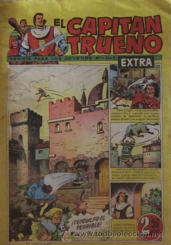 Tebeos: 12 COMICS: CAPITAN TRUENO EXTRA - Foto 2 - 50414002