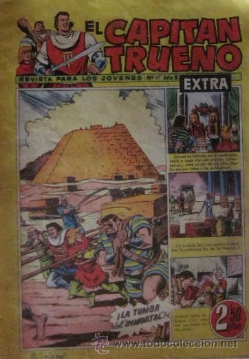 Tebeos: 12 COMICS: CAPITAN TRUENO EXTRA - Foto 3 - 50414002