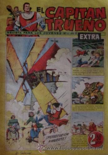 Tebeos: 12 COMICS: CAPITAN TRUENO EXTRA - Foto 4 - 50414002