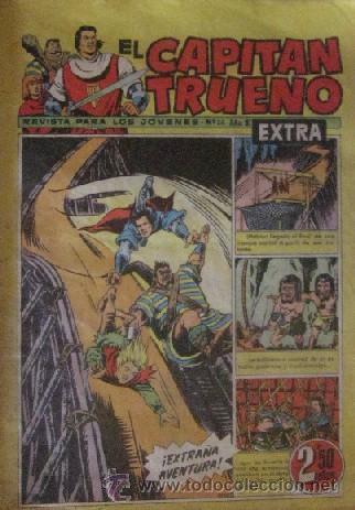 Tebeos: 12 COMICS: CAPITAN TRUENO EXTRA - Foto 5 - 50414002