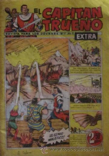 Tebeos: 12 COMICS: CAPITAN TRUENO EXTRA - Foto 6 - 50414002
