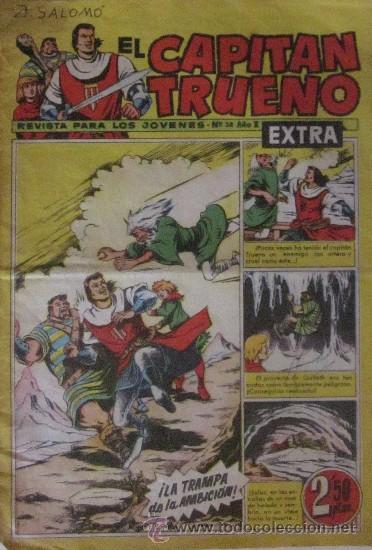 Tebeos: 12 COMICS: CAPITAN TRUENO EXTRA - Foto 7 - 50414002