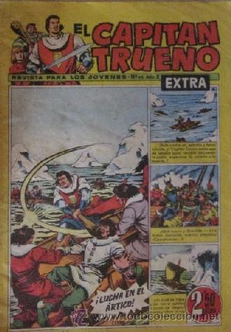 Tebeos: 12 COMICS: CAPITAN TRUENO EXTRA - Foto 9 - 50414002