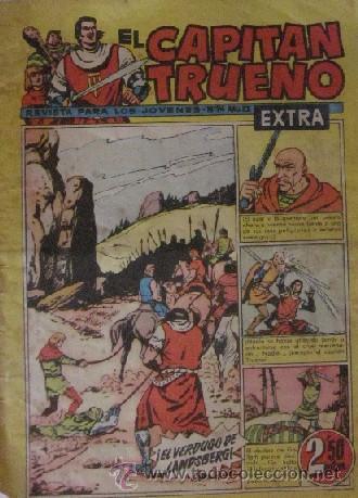 Tebeos: 12 COMICS: CAPITAN TRUENO EXTRA - Foto 10 - 50414002