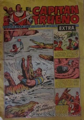 Tebeos: 12 COMICS: CAPITAN TRUENO EXTRA - Foto 11 - 50414002
