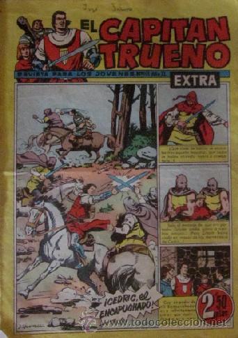 Tebeos: 12 COMICS: CAPITAN TRUENO EXTRA - Foto 12 - 50414002