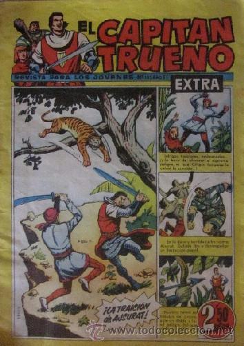 Tebeos: 12 COMICS: CAPITAN TRUENO EXTRA - Foto 13 - 50414002