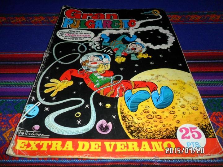 GRAN PULGARCITO EXTRA VERANO 1969. BRUGUERA 25 PTS. MUY DIFÍCIL. REGALO EXTRA VERANO 1973. (Tebeos y Comics - Bruguera - Pulgarcito)