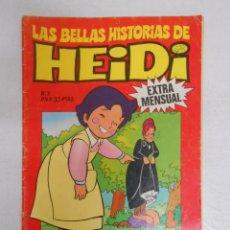 Tebeos: LAS BELLAS HISTORIAS DE HEIDI EXTRA MENSUAL Nº 3. TDKC9. Lote 50426547
