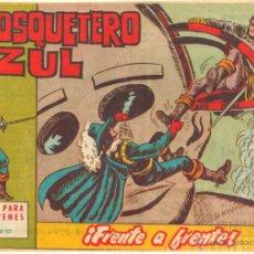 Tebeos: EL MOSQUETERO AZUL ORIGINAL MAGA 1962 COMPLETA, MUY BUEN ESTADO, VER TODAS LAS PORTADAS. Lote 50448345