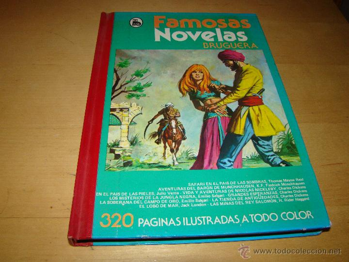 FAMOSAS NOVELAS BRUGUERA - TOMO XII (Tebeos y Comics - Bruguera - Otros)
