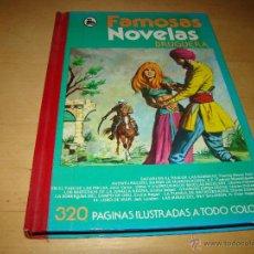 Tebeos: FAMOSAS NOVELAS BRUGUERA - TOMO XII. Lote 50513149