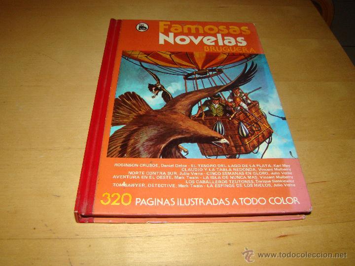 FAMOSAS NOVELAS BRUGUERA - TOMO V (Tebeos y Comics - Bruguera - Otros)