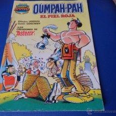 Tebeos: OUMPAH-PAH EL PIEL ROJA POR UDERZO COLECCIÓN SUPER BRAVO NUM. 1 - BRUGUERA 1A. EDICCION 1982. Lote 50516213