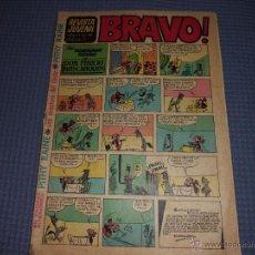 Tebeos: REVISTA JUVENIL BRAVO Nº 41 BRUGUERA. Lote 50549990