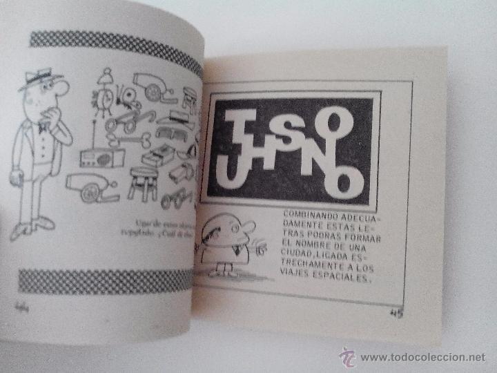 Tebeos: PASATIEMPOS JUVENILES BRUGUERA,3ªEDICION, 1976 - Foto 3 - 171680604